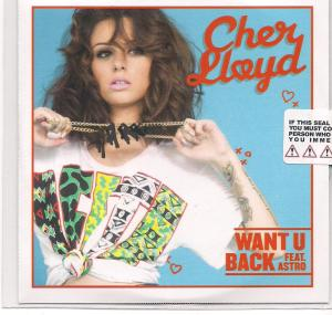 myblogaboutcherlloydcom Want U Back CD Single Scan (1)