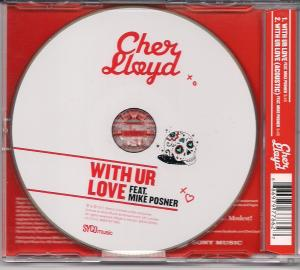 myblogaboutcherlloydcom With Ur Love CD Single Scan (2)