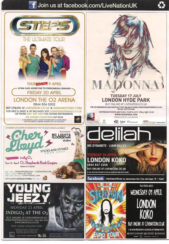 myblogaboutcherlloydcom 120415 Shepherds Bush Flyer (1)