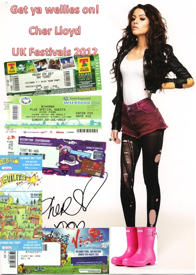 myblogaboutcherlloydcom UK Festivals 2012 mashup